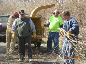 Cleaning up the Simon Kenton Trail