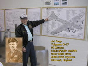 B-17 veteran Art Kemp to speak at MERFI in Urbana, Ohio