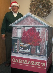 Carmazzi's Deli and Candy Store, Urbana, Ohio, at Mercy McAuley Center Christmas Parade