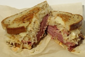 Reuben sandwich, Farmer's Daughter, Urbana, Ohio