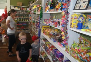 Carmazzi's tantalizing selection of classic candies will continue to draw kids and the young at heart.