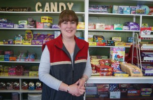 Nanette Hagan, Carmazzi's Deli and Candy Store manager, Urbana, Ohio