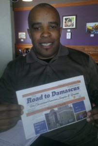 Pat Bass, editor and publisher of The Road to Damascus Publication, Urbana, Ohio