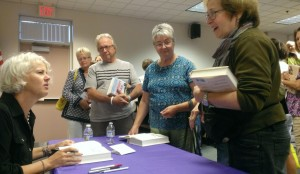 Factory Man author Beth Macy at Champaign County Library, Urbana, Ohio/