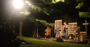 Daniel Dye and the Miller Road Band at the 2014 Madden Road Music Fest