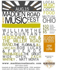 2015 Madden Road Music Fest