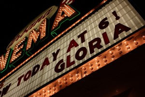 Gloria Theatre Marquee, Urbana, Ohio